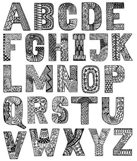 doodle alfabet 25 best ideas about doodle alphabet on bullet