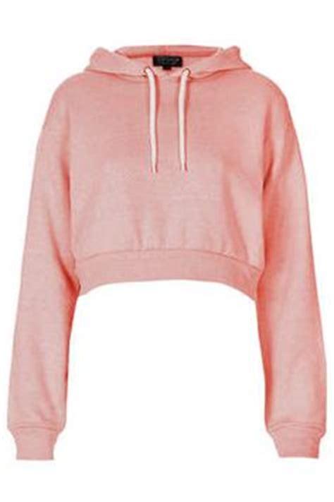 Crop Hodie Pink crop top sweaters