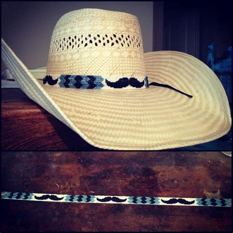 beaded hat band mustache beaded hat band custom beaded hat bands find me