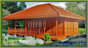 gambar rumah kayu tipe 68 25 rumah kayu woloan