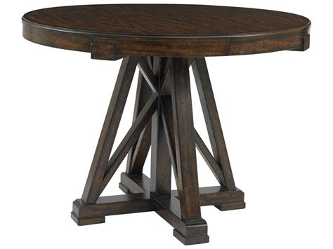 42 Pedestal Dining Table Stanley Furniture Newel Date 42 Pedestal Dining Table 484 11 30