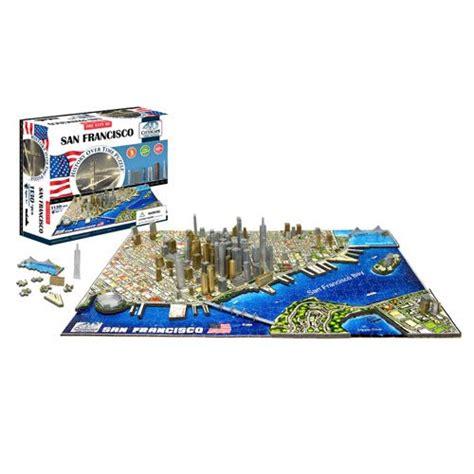 Puzzle 4d by San Francisco Usa 4d Puzzle 4d Cityscape Puzzles