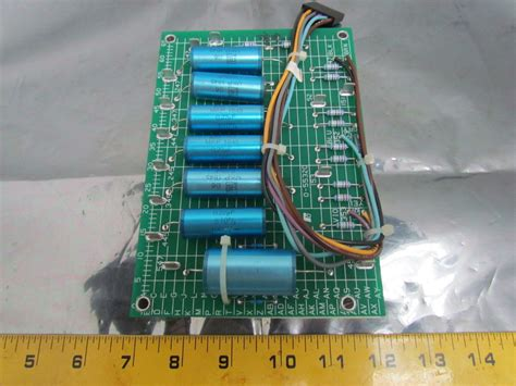 capacitor on circuit board reliance electric 0 55320 capacitor circuit board printed dv dt card 460v nib ebay