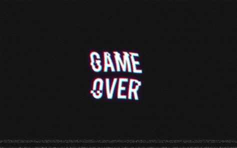 wallpaper game over hd game over video games retro games distortion wallpapers