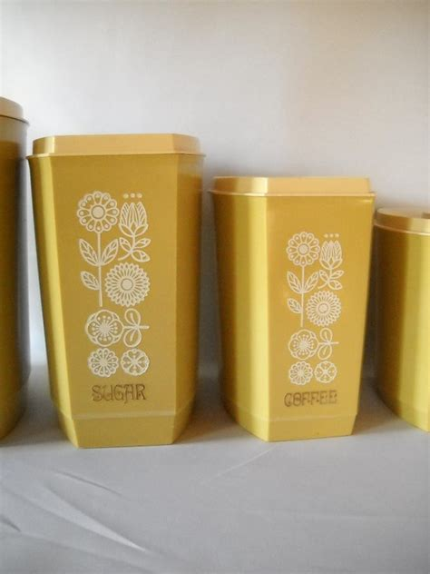 retro canisters kitchen 18 best retro kitchen canisters images on