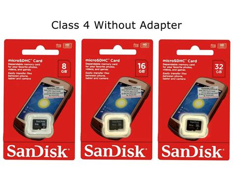 Memory Card Micro Sd 8 Gb Sandisk Original Class 4 Non Adapter sandisk micro sd memory card class 4 end 1 28 2018 1 18 am