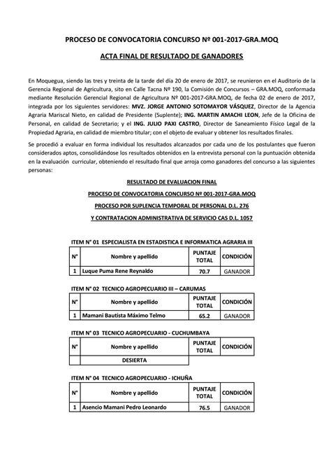 diresa junin convocatoria 2016 convocatoria diresa mequegua convocatoria diresa mequegua