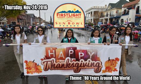 el paso tx thanksgiving parade sun bowl association excited for 80th installation of the