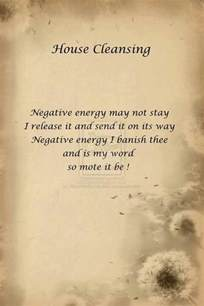 signs of negative energy in home house cleansing spell wicca spells etc pinterest