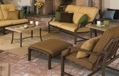 outdoor furniture  tropitone windsor pelican patio