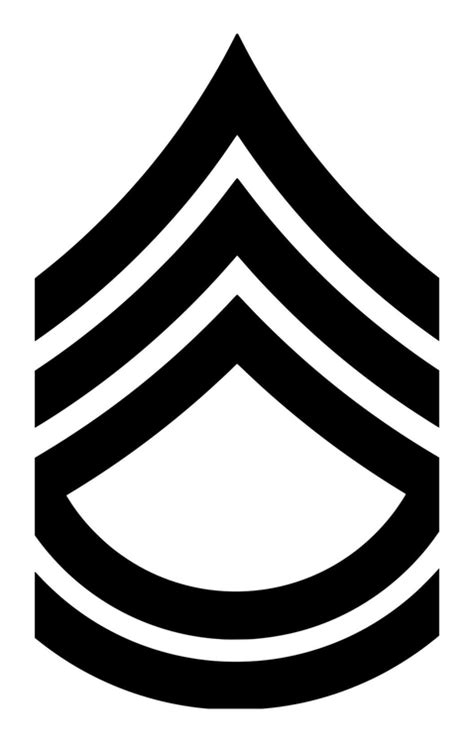 Instant Pot Decals by Us Army E7 Sergeant First Class Insignia 5 Quot X 3 Quot Vinyl