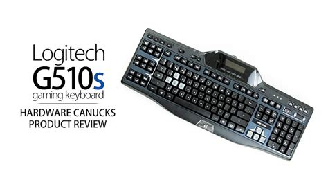 Logitech Gaming Keyboard G510s logitech g510s gaming keyboard review
