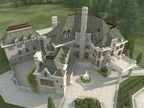 castle home plans luxury french chateau home luxury french chateau house