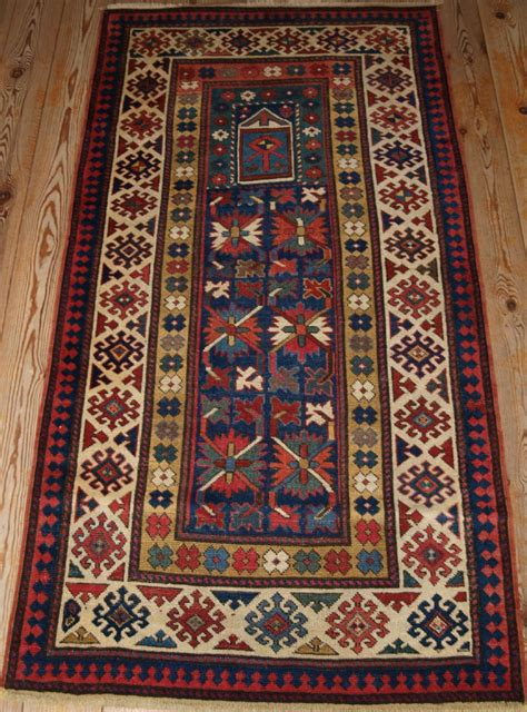 Antique Caucasian Karabagh Prayer Rug Great Rug 4th Quarter Rug