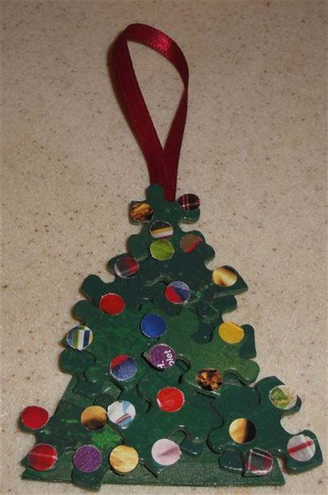 how to create a fun and easy christmas tree ornament from
