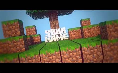 minecraft intro templates for android top 20 best free minecraft intro templates sony vegas