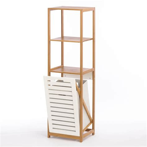 List Of Home Decor Catalogs by Bamboo Hamper Storage Shelves Wholesale At Koehler Home Decor