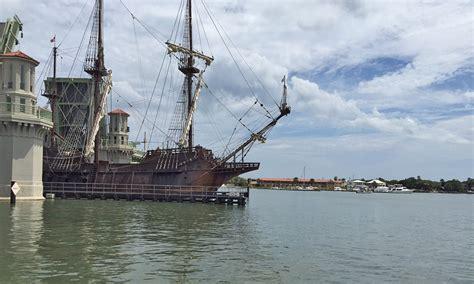 gangway  el galeon visit st augustine