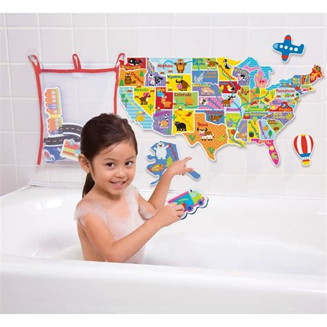 usa map puzzle in the tub usa map in the tub 75 pc foam puzzle educational toys planet