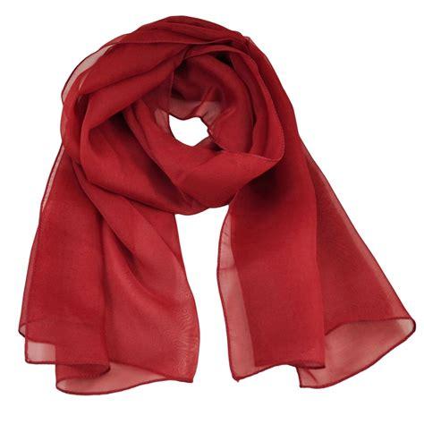 Plain Chiffon Scarf plain burgundy chiffon scarf from ties planet uk