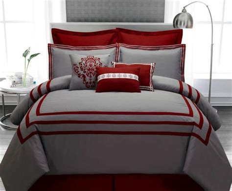 red and gray bedding 25 best grey red bedrooms ideas on pinterest
