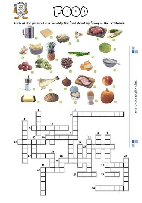 easy crossword puzzles about food 218 best images about crossword on pinterest english