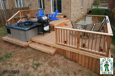 deck plans com large diy deck plans