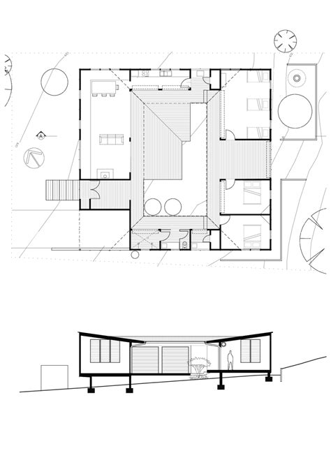 home architecture house plan courtyard home designs