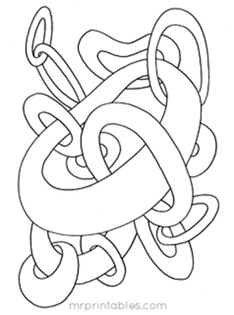 abstract coloring pages simple abstract coloring pages for kids mr printables