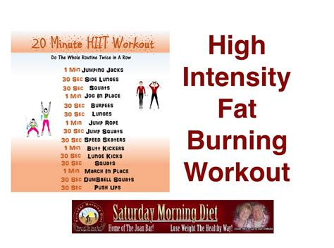 high intensity burning workout to burn belly