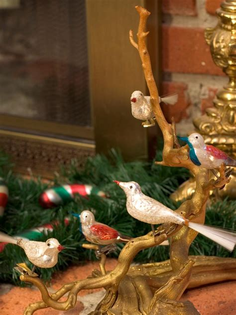 Small Bird Decorations by A Vintage Hgtv