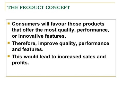 product concept template basic concepts of marketing