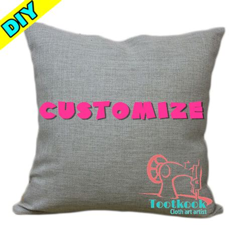 Pillow Custom Design 10 diy design send pictures to customize your own unique cushion cover custom made decorate sofa