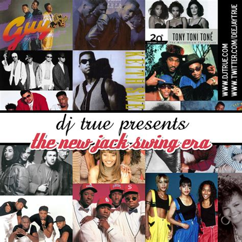 newjack swing various artists the new jack swing era hosted by dj true