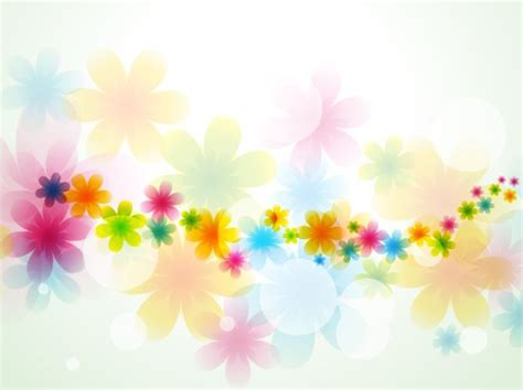 beaming flowers picture beautiful flower in bloom light light beautiful vector free background created from many