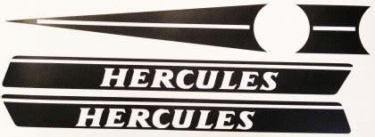 Hercules Moped Aufkleber by Hercules 70er Jahre Tankaufkleber Set Zweirad Union