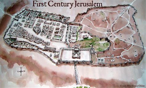 King Of The Hill House Floor Plan by The Pool Of Siloam First Century Jerusalem Bible
