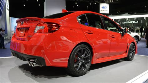 subaru wrx upgrades 2018 subaru wrx and wrx sti pair updated looks with