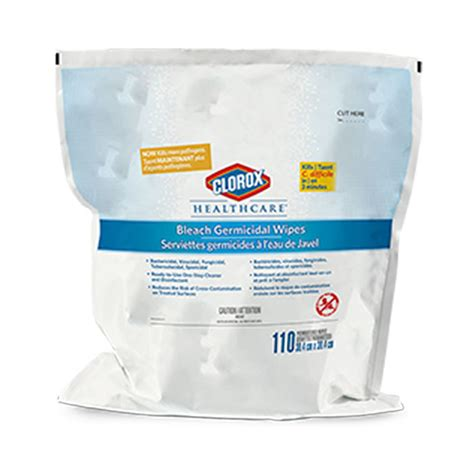 professional disinfecting bleach wipes refill groupxtreme