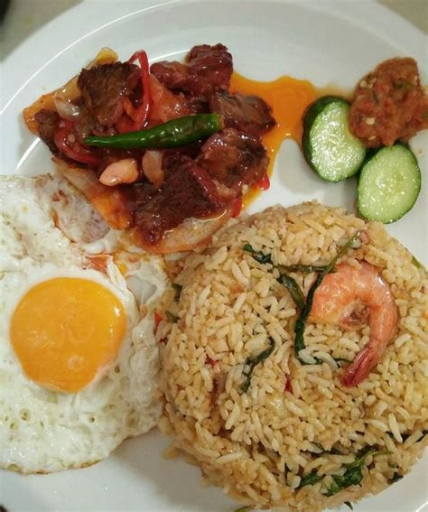 Wajan Buat Nasi Goreng resipi step by step nasi goreng usa daging masak merah rasa