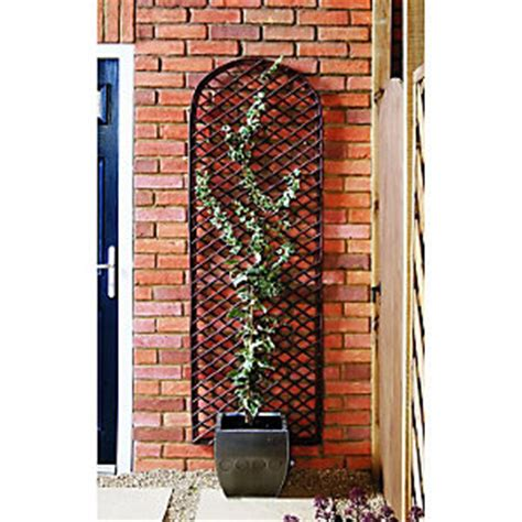 Curved Garden Trellis Wickes Willow Curved Trellis 1830mmx600mm Wickes Co Uk