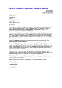 Complaint Letter After Service When Writing A Letter Of Complaint Ideas What U0027s The Difference Between A Letter Of