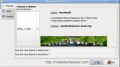install cairo clock themes ubuntu how to install and configure cairo dock in ubuntu intrepid