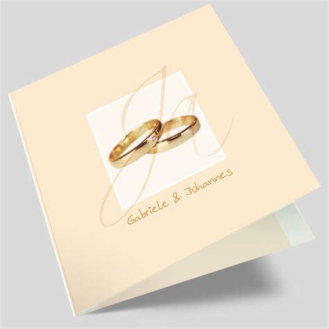 Hochzeitseinladung Ringe hochzeitseinladung ring