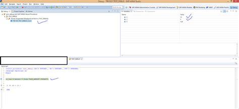 tutorial debug sap sap hana tutorial material and certification guide