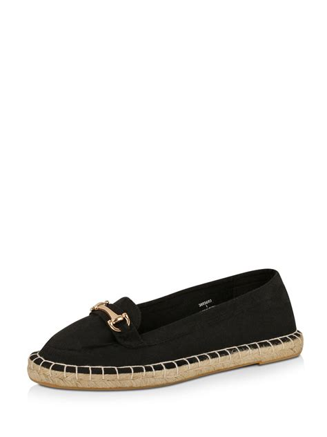 loafers new look buy new look moafer espadrille loafers for