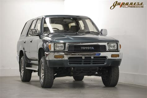 Modul Driver Turbo Fortuner Hilux Diesel Japanese Classics 1990 Toyota Hilux 4x4 Turbo Diesel