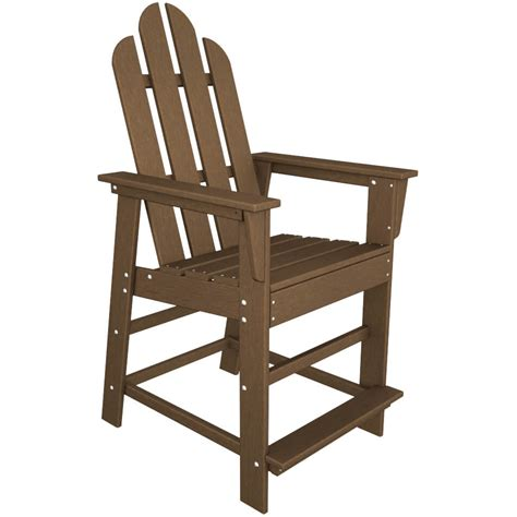 Polywood Long Island Dining Chair Counter Height Patio Polywood Dining Chairs
