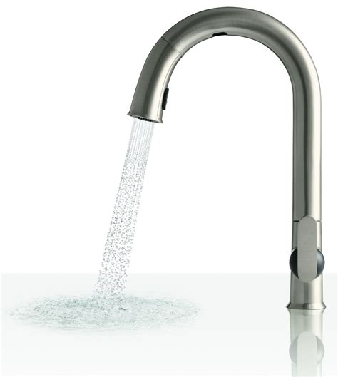 electronic kitchen faucets electronic touchless kitchen faucet sensate kohler rus