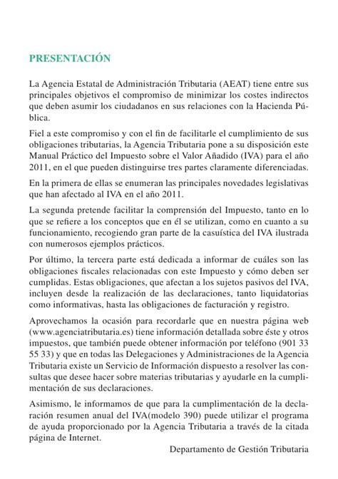 manual iva 2015 agencia tributaria manual iva 2011